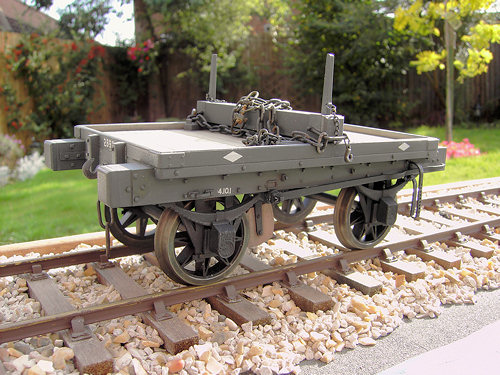 LNWR Wagon D12 kits made by Mike Williams