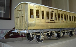 LNWR D297 Carriage