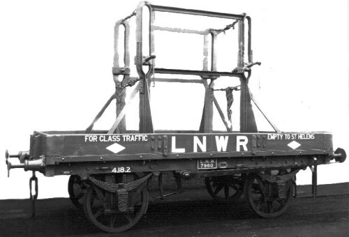 LNWR Glass Wagon D39